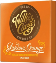 Willie's Cacao Luscious Orange Dark Chocolate 50g
